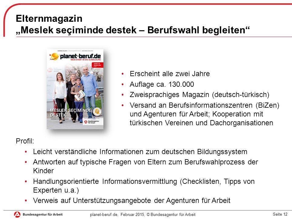 """Meslek seçiminde destek – Berufswahl begleiten"