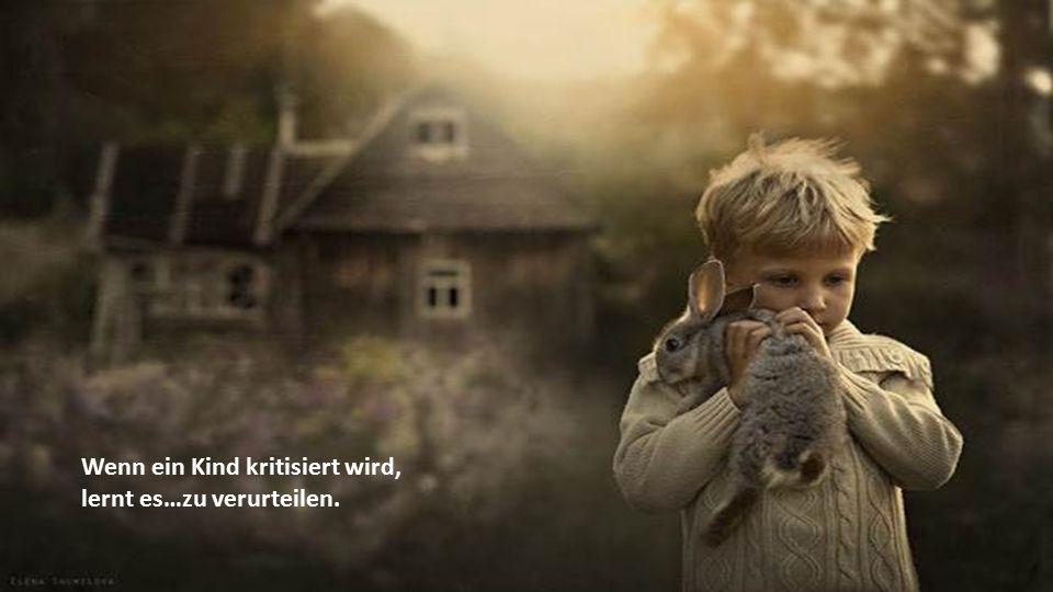 Wenn ein Kind kritisiert wird,