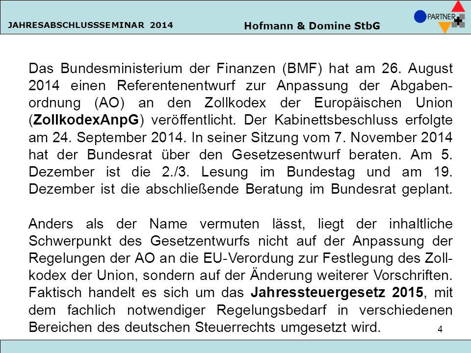 Das Bundesministerium der Finanzen (BMF) hat am 26
