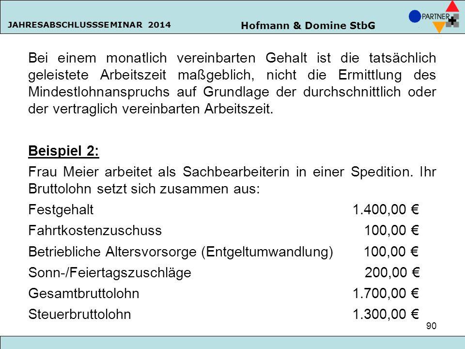 Fahrtkostenzuschuss 100,00 €