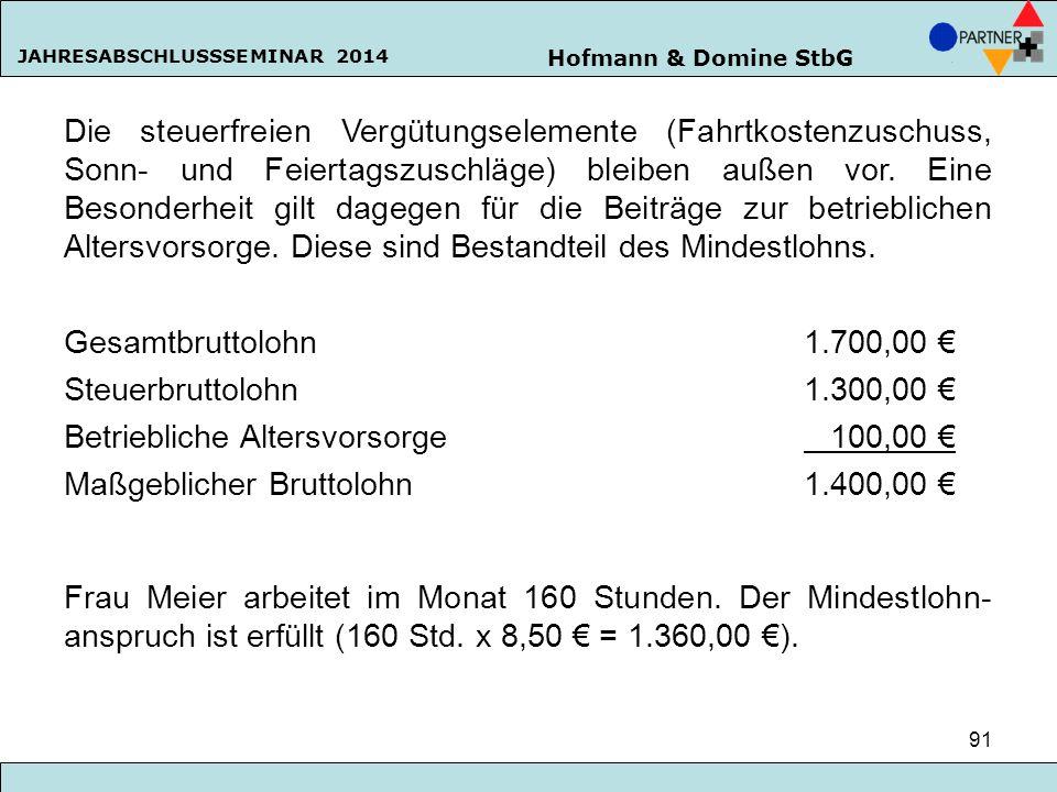 Betriebliche Altersvorsorge 100,00 €