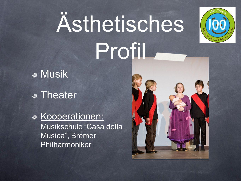 Ästhetisches Profil Musik Theater