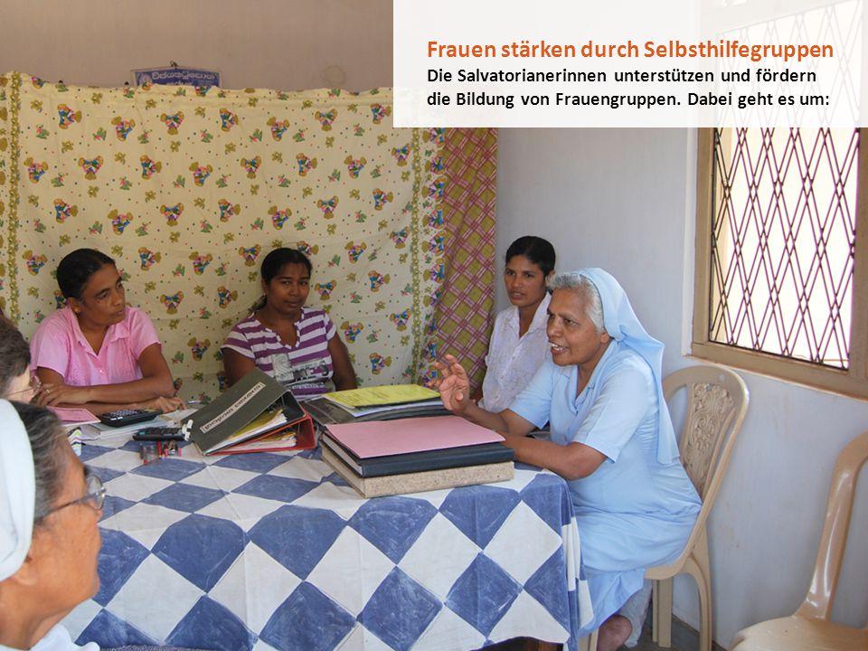 Frauen stärken durch Selbsthilfegruppen