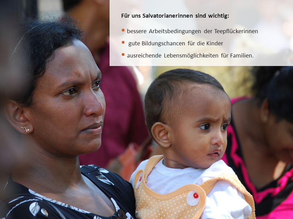 Für uns Salvatorianerinnen sind wichtig: