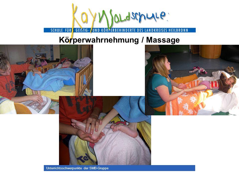 Körperwahrnehmung / Massage