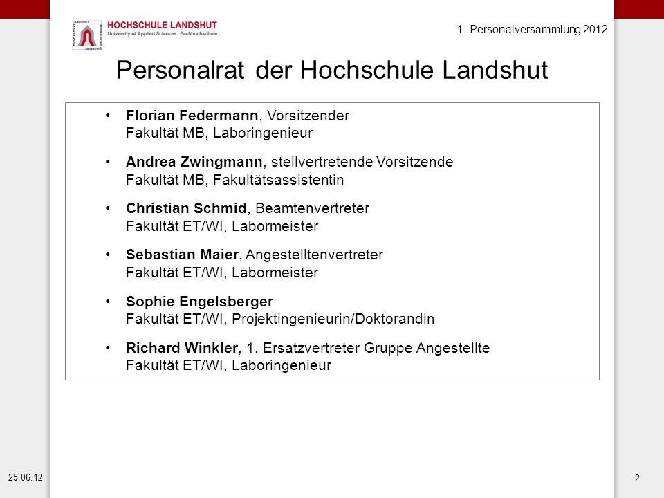 Personalrat der Hochschule Landshut