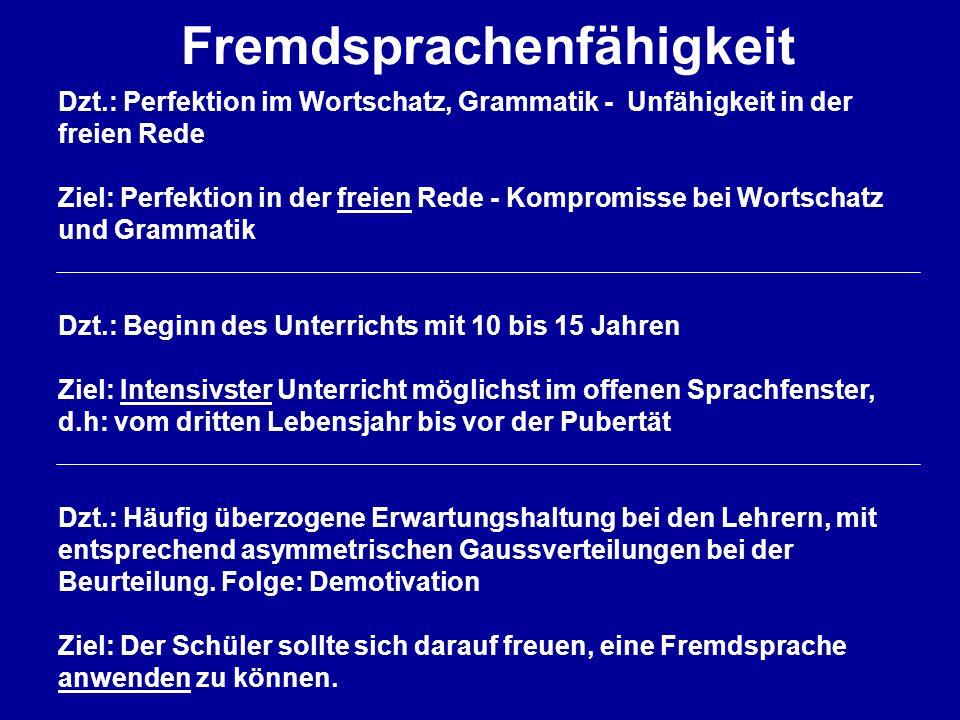 Fremdsprachenfähigkeit