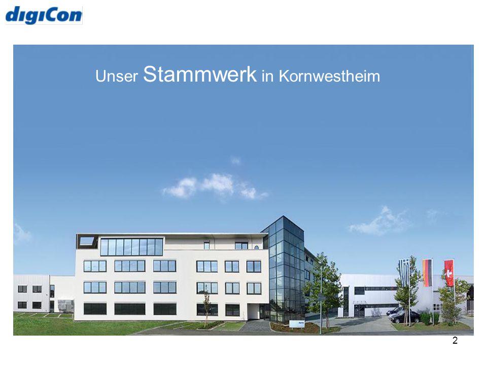 Unser Stammwerk in Kornwestheim