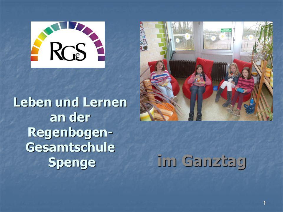 Leben und Lernen an der Regenbogen-Gesamtschule Spenge