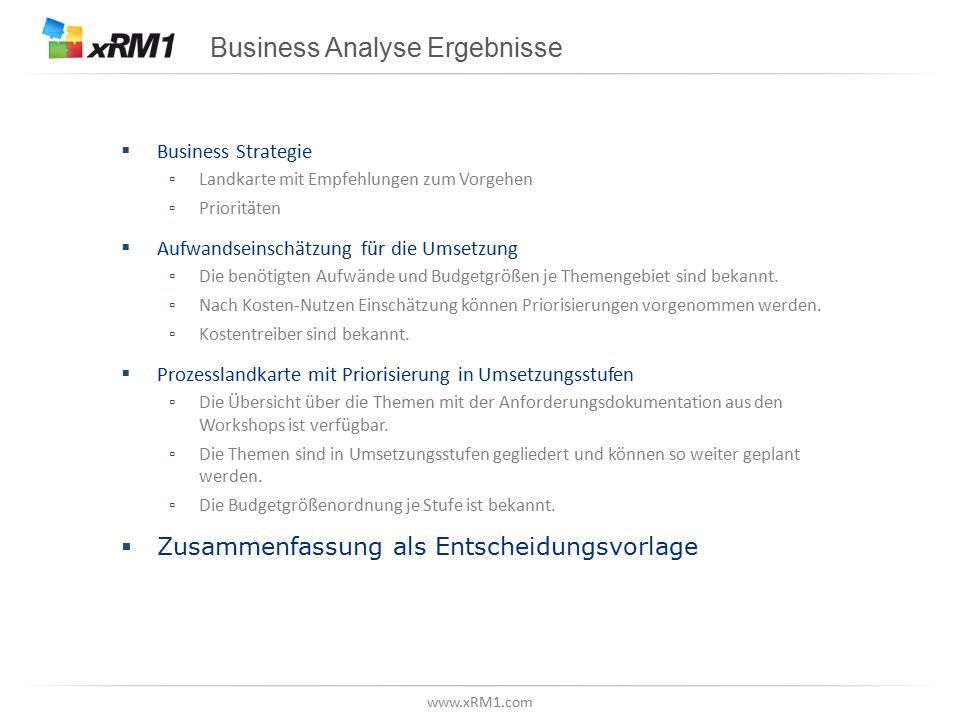 Business Analyse: Der Ablauf auf einen Blick