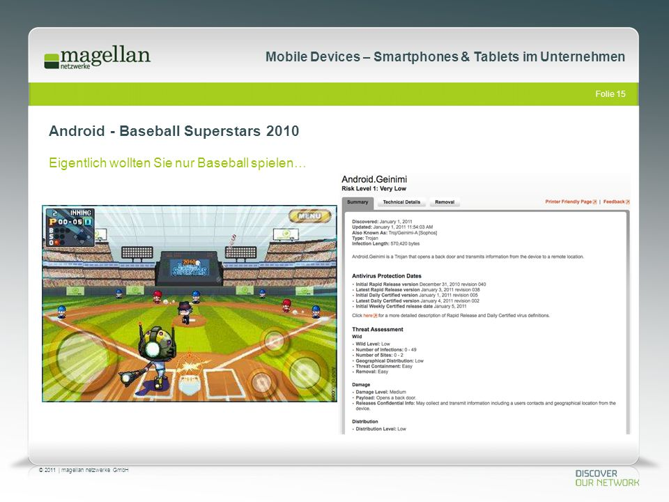 Android - Baseball Superstars 2010