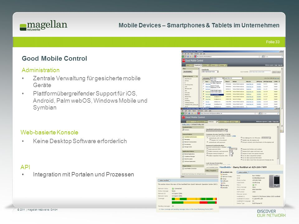 Good Mobile Control Administration