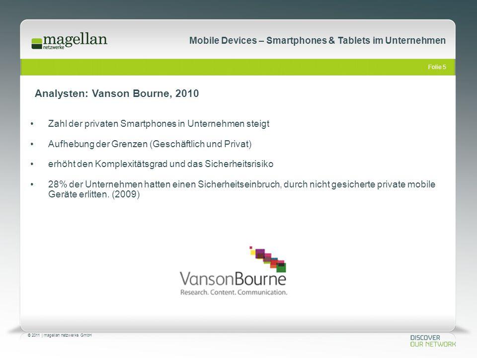 Analysten: Vanson Bourne, 2010