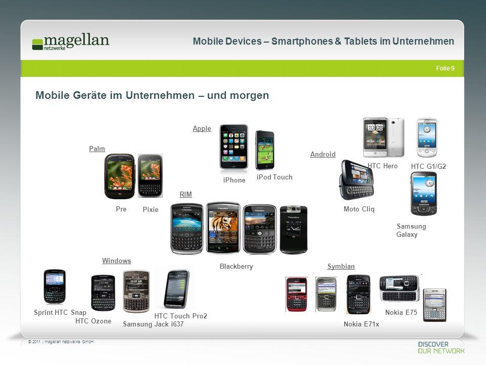 Mobile Geräte im Unternehmen – und morgen