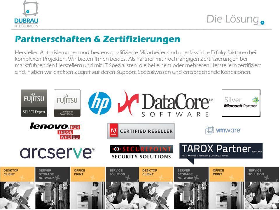 Partnerschaften & Zertifizierungen
