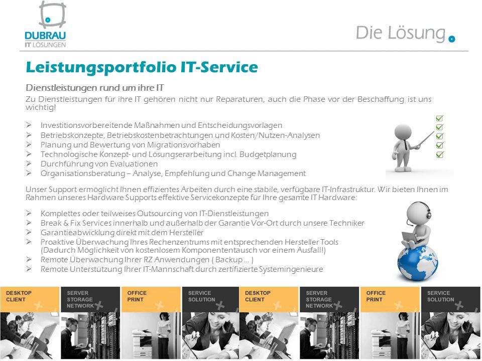 Leistungsportfolio IT-Service