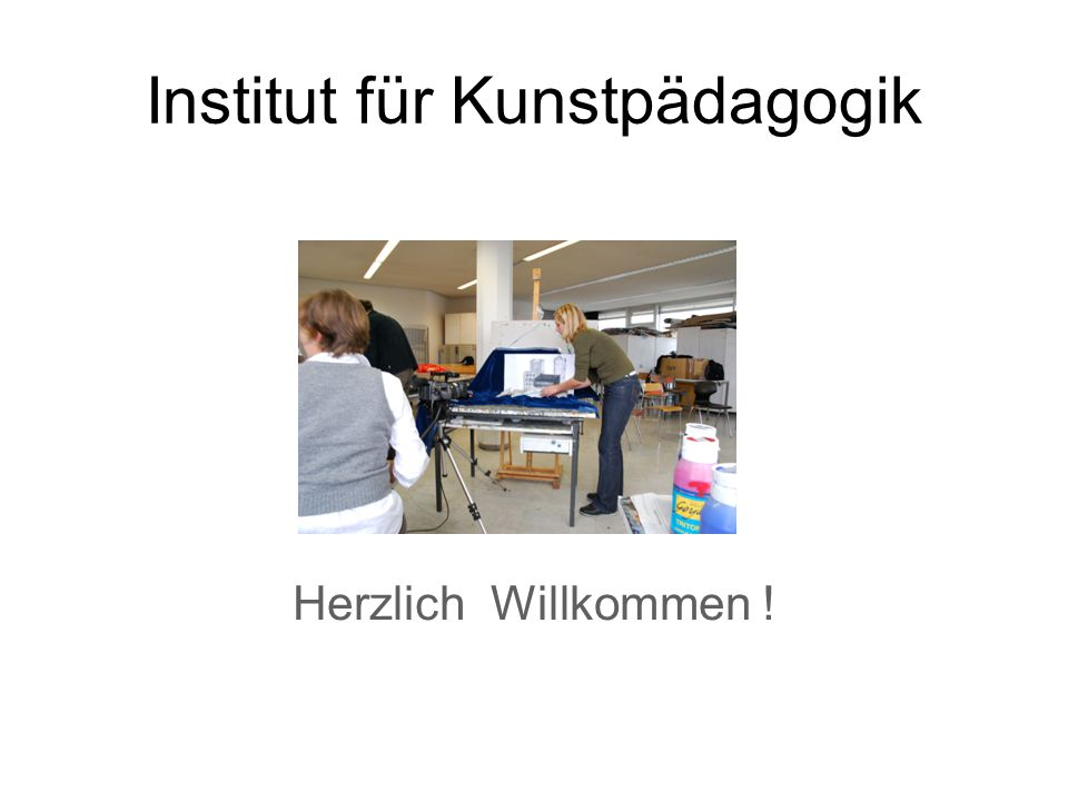 Institut für Kunstpädagogik