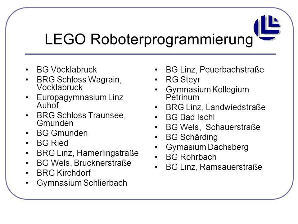 LEGO Roboterprogrammierung