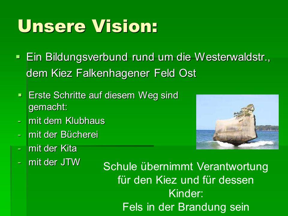 Unsere Vision: Ein Bildungsverbund rund um die Westerwaldstr.,