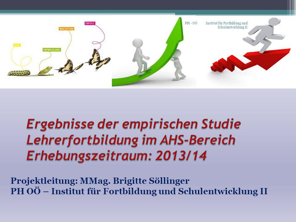 PH - OÖ Institut für Fortbildung und Schulentwicklung II