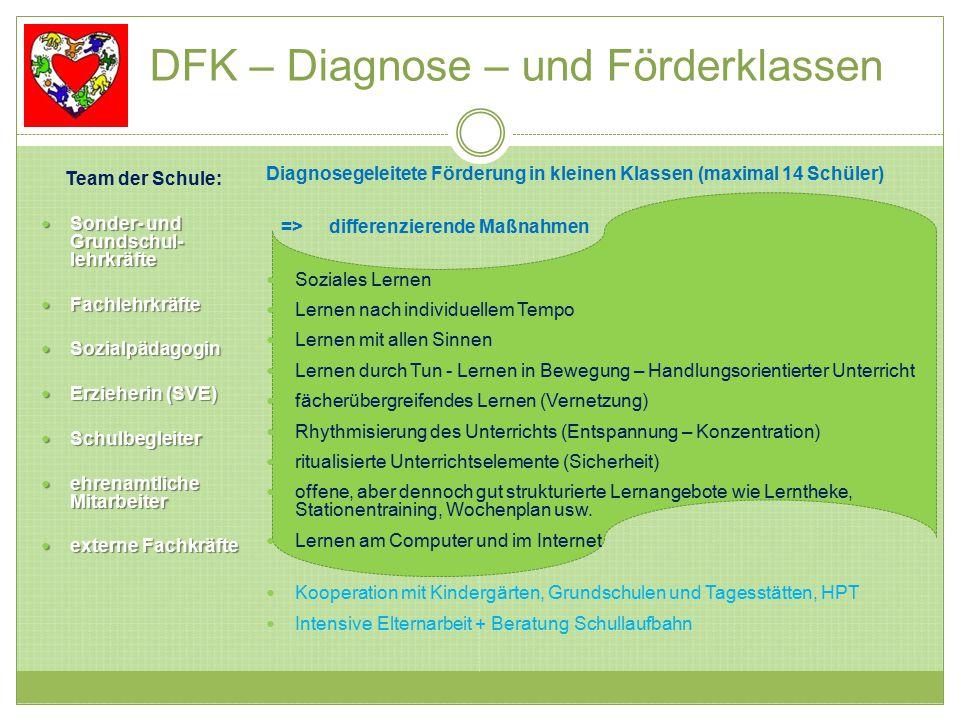 DFK – Diagnose – und Förderklassen
