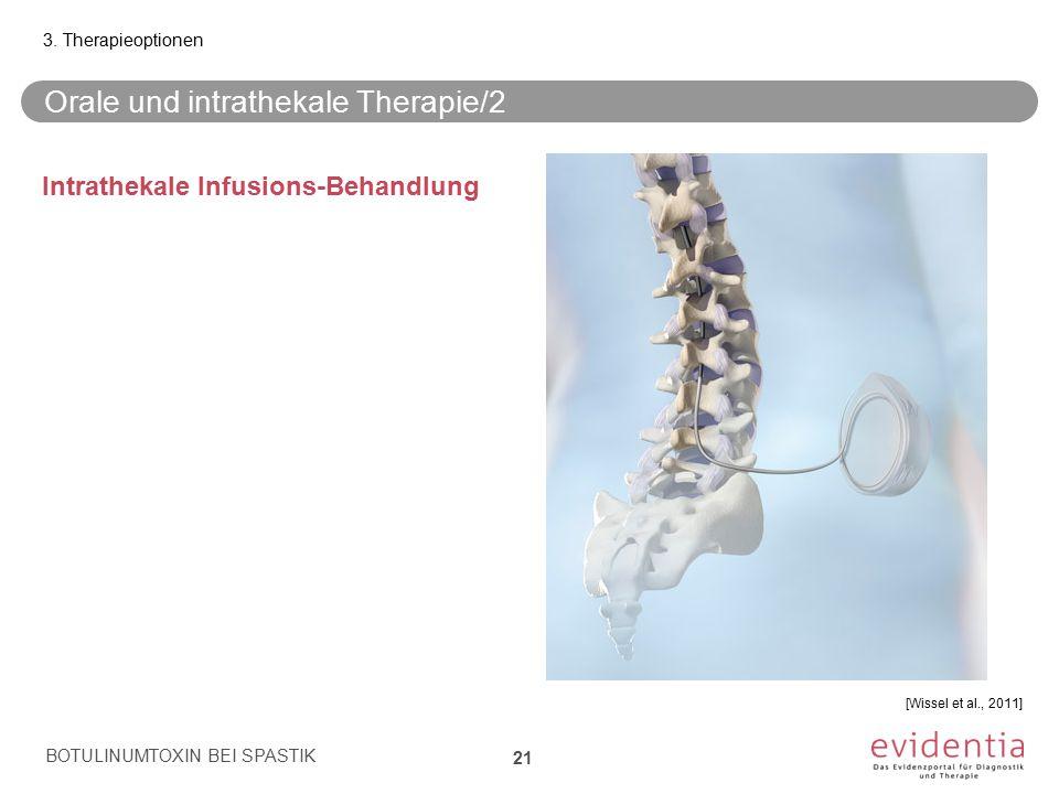 Orale und intrathekale Therapie/2