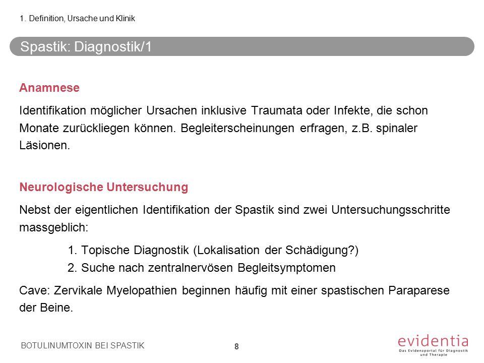 1. Definition, Ursache und Klinik