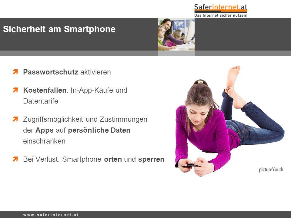 Sicherheit am Smartphone