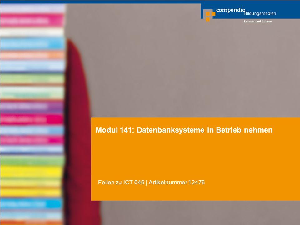 Modul 141: Datenbanksysteme in Betrieb nehmen