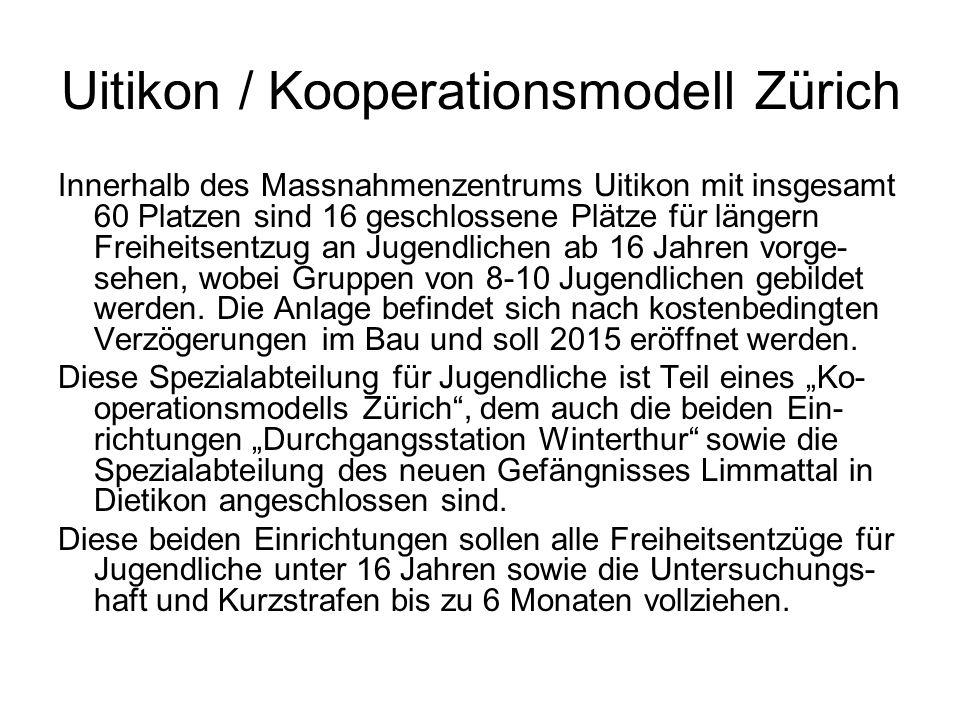 Uitikon / Kooperationsmodell Zürich