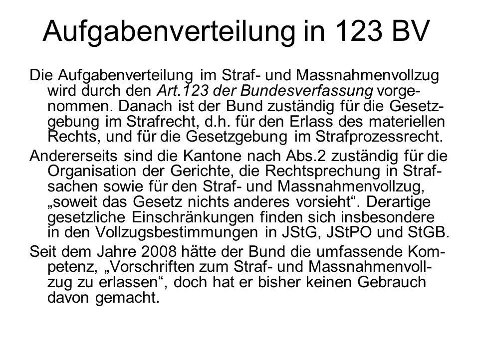 Aufgabenverteilung in 123 BV