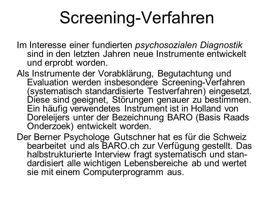 Screening-Verfahren