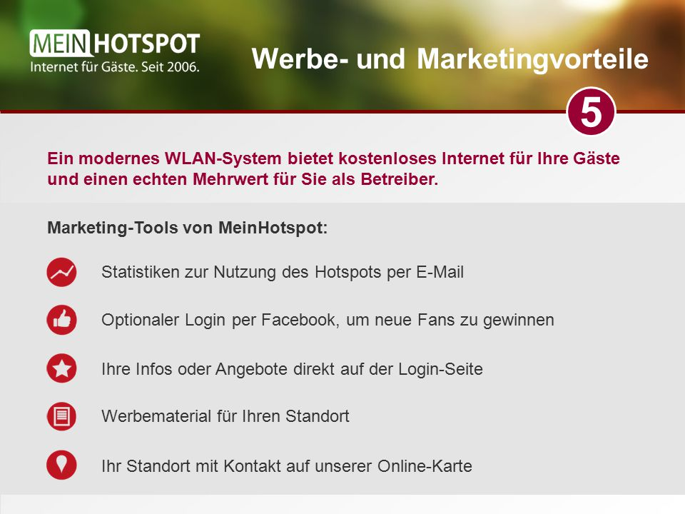Werbe- und Marketingvorteile