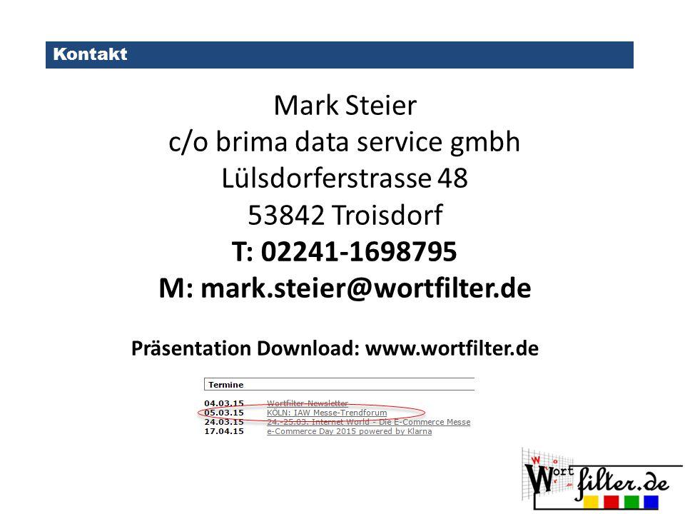M: mark.steier@wortfilter.de