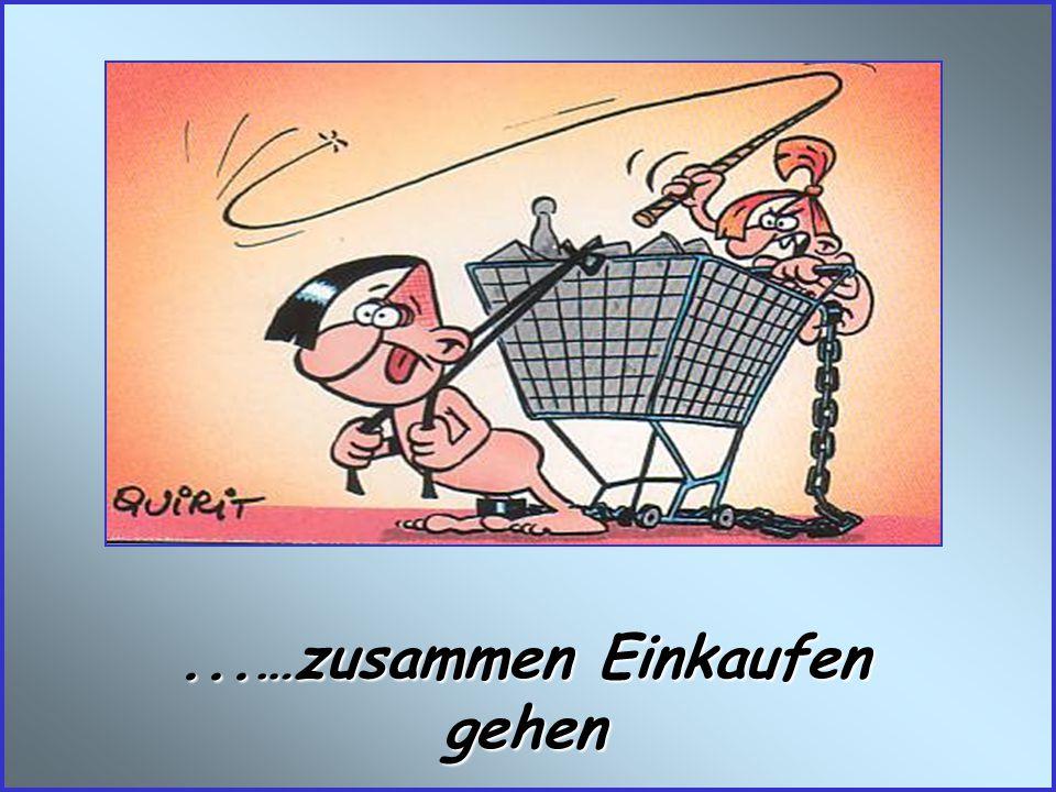 ...…zusammen Einkaufen gehen