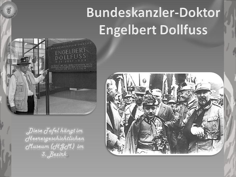 Bundeskanzler-Doktor Engelbert Dollfuss