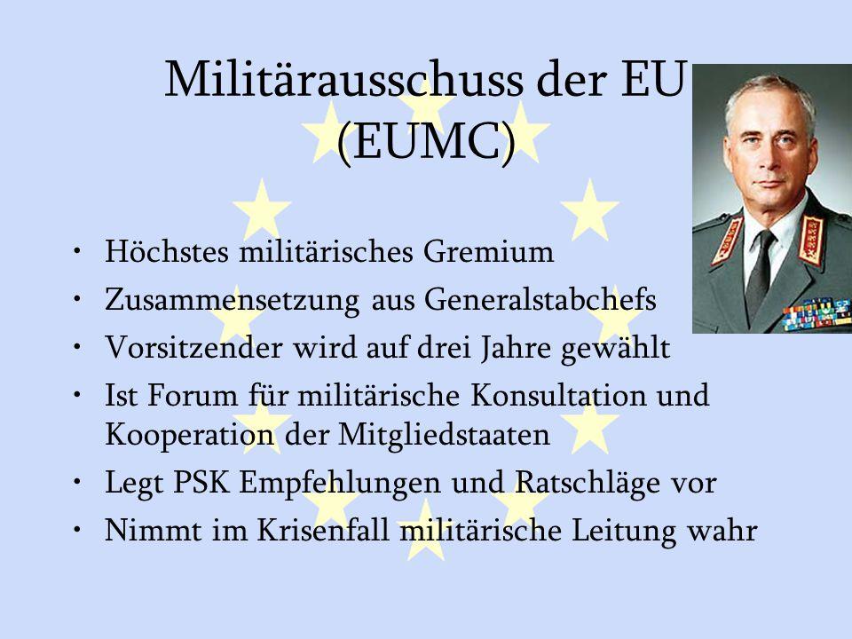 Militärausschuss der EU (EUMC)