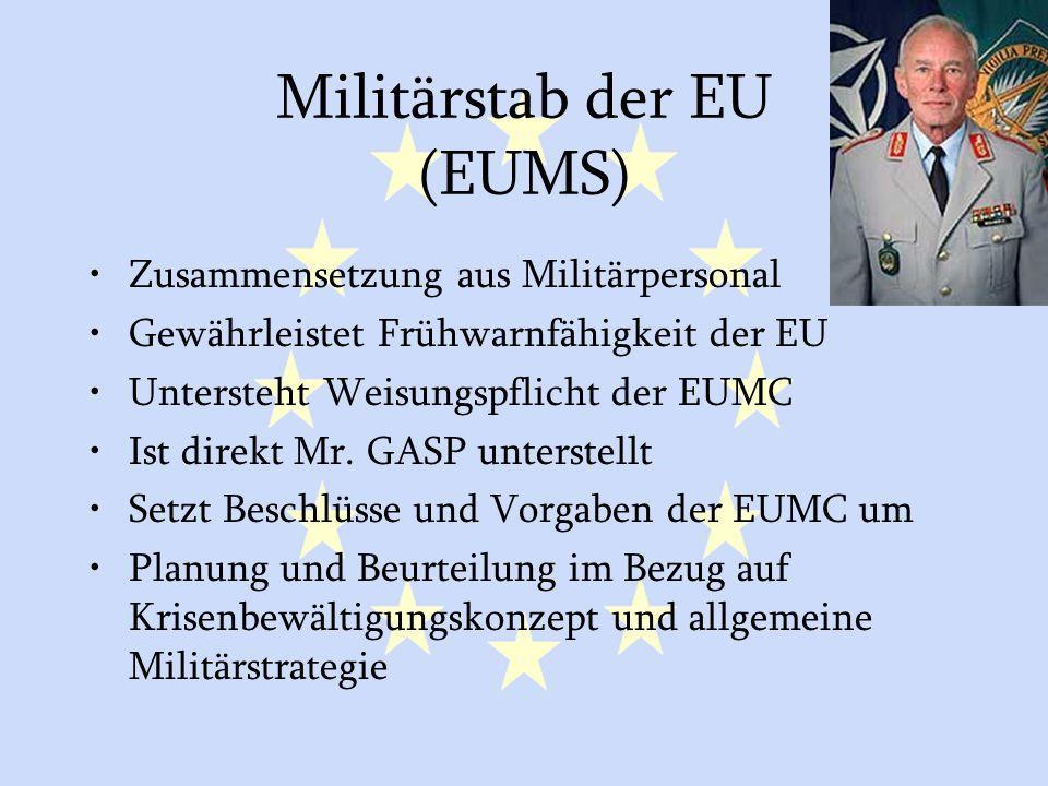 Militärstab der EU (EUMS)