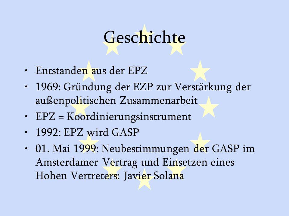 Geschichte Entstanden aus der EPZ