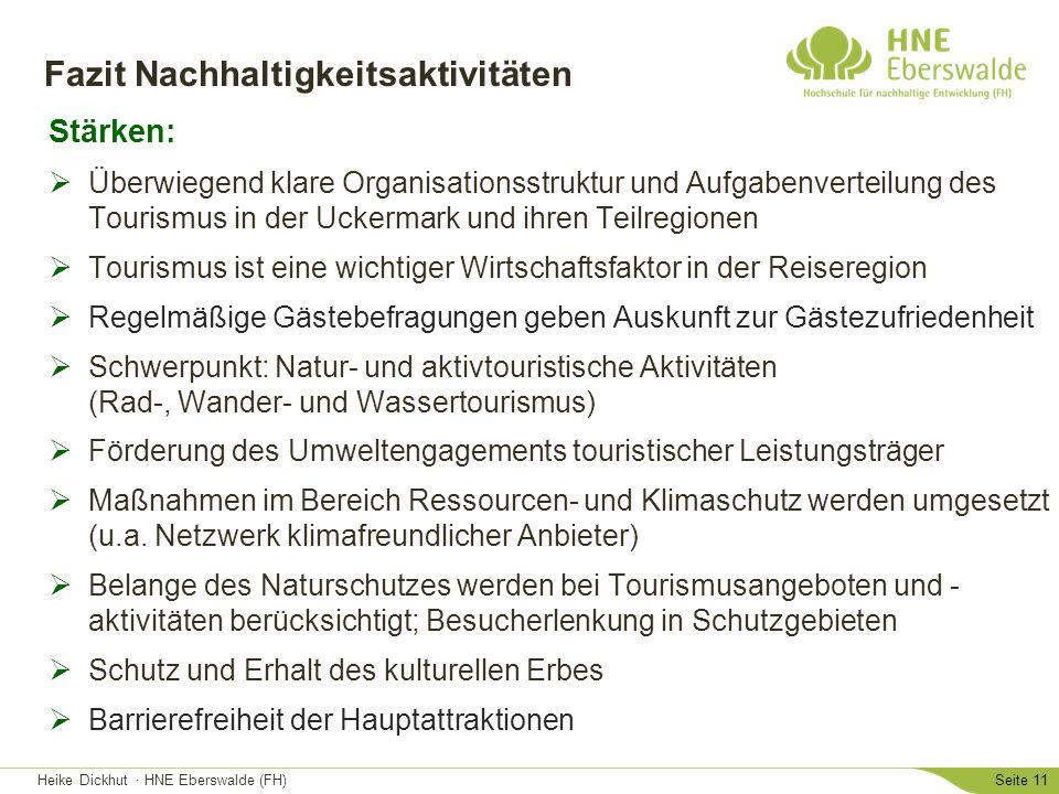 Fazit Nachhaltigkeitsaktivitäten