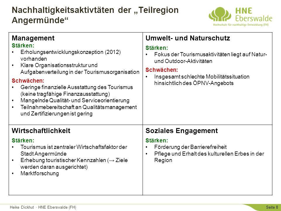 """Nachhaltigkeitsaktivtäten der """"Teilregion Angermünde"""