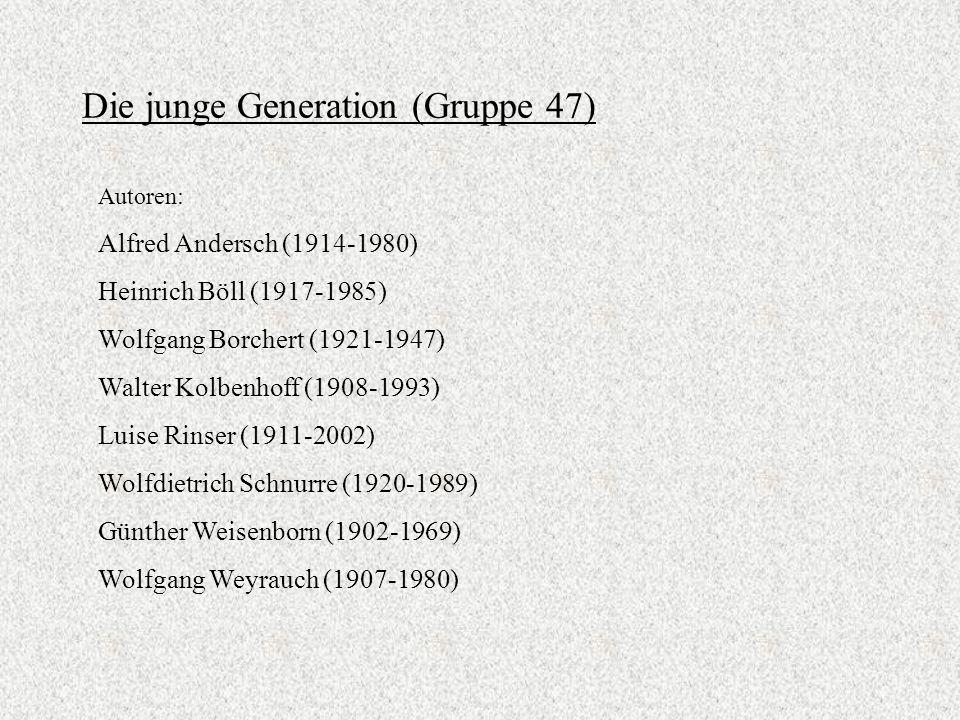Die junge Generation (Gruppe 47)