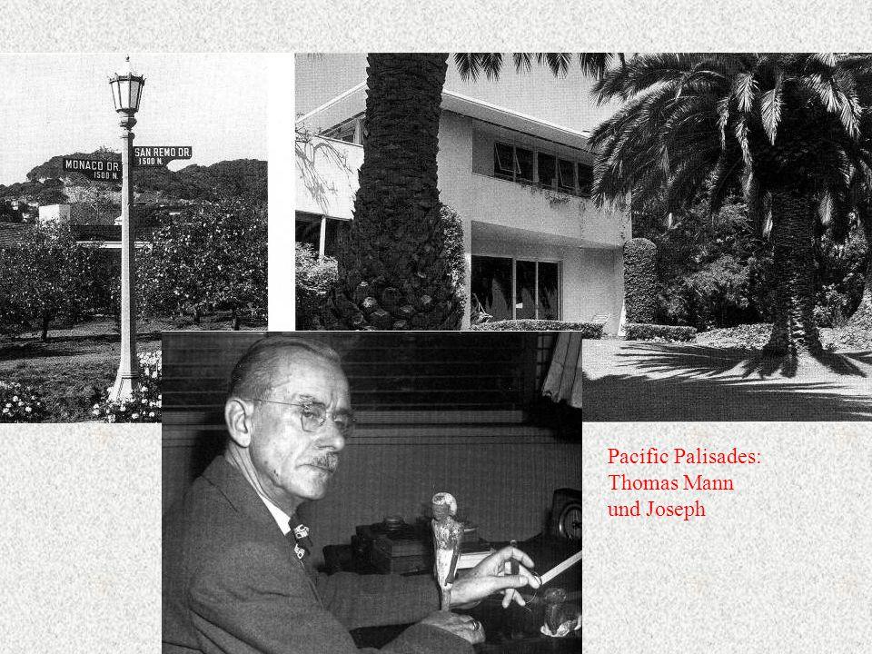 Pacific Palisades: Thomas Mann und Joseph
