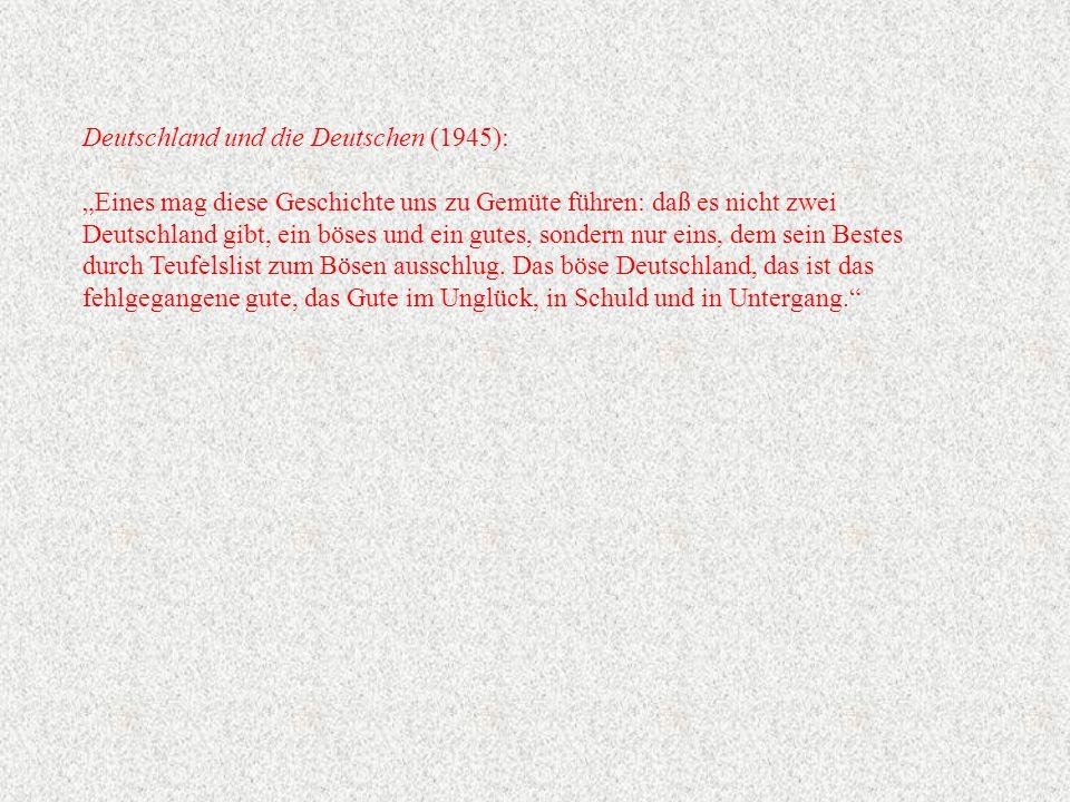 Deutschland und die Deutschen (1945):