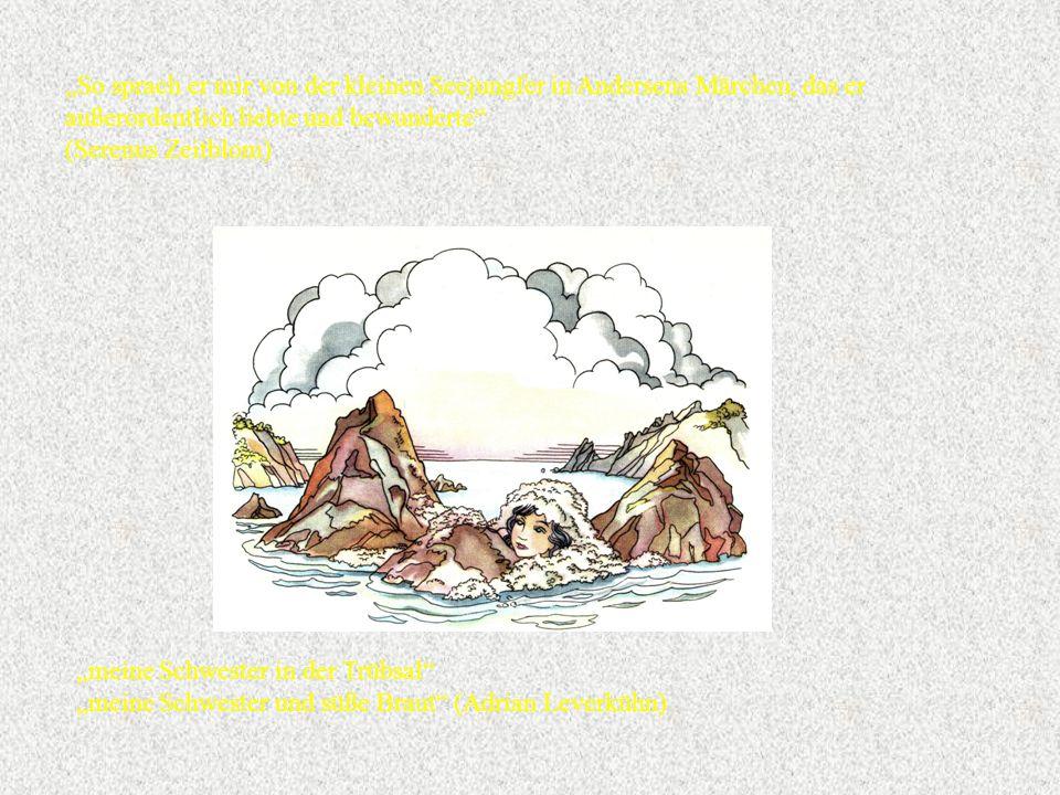 """""""So sprach er mir von der kleinen Seejungfer in Andersens Märchen, das er außerordentlich liebte und bewunderte"""