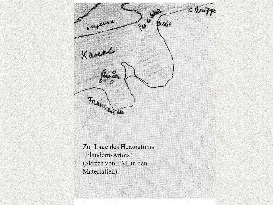 Zur Lage des Herzogtums