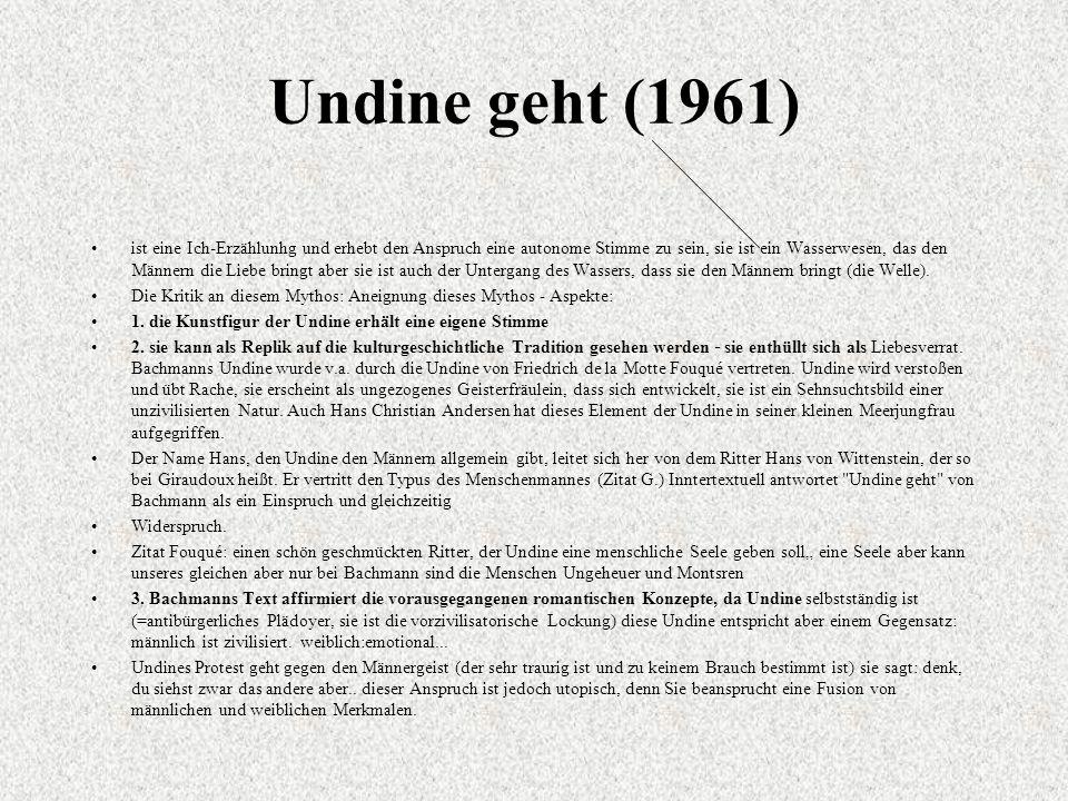 Undine geht (1961)