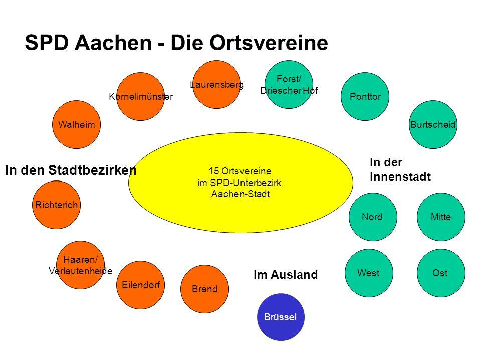 SPD Aachen - Die Ortsvereine