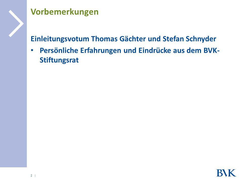 Vorbemerkungen Einleitungsvotum Thomas Gächter und Stefan Schnyder