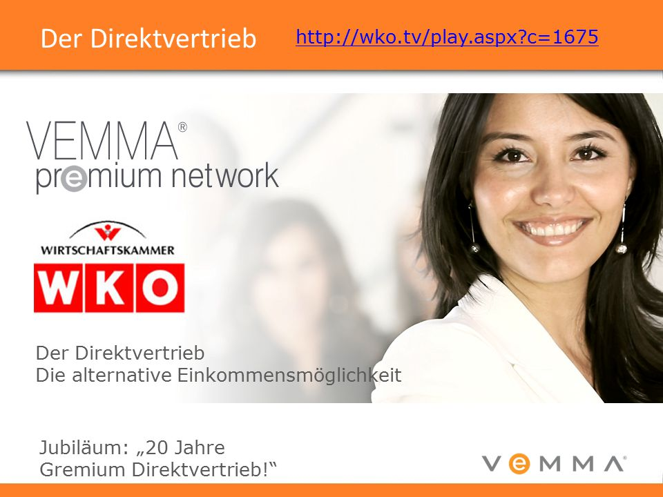Der Direktvertrieb http://wko.tv/play.aspx c=1675
